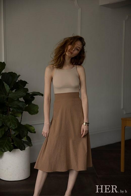 Midi Skirt 麂皮長裙