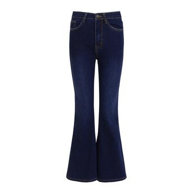 Hippie flared jeans