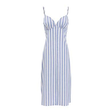 Boquinhas striped dress