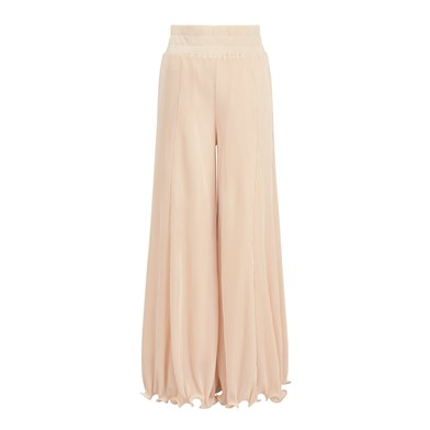 wide palazzo trousers