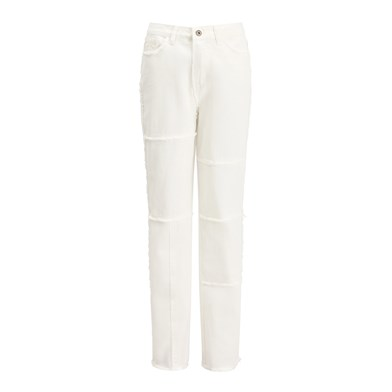 patch-work utility trousers