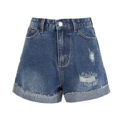short denim shorts
