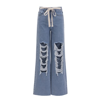 the big distressed jeans