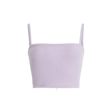 basic cropped vest