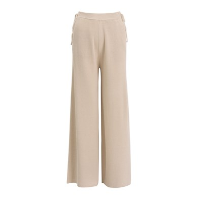 Akso knitted wide-leg trousers