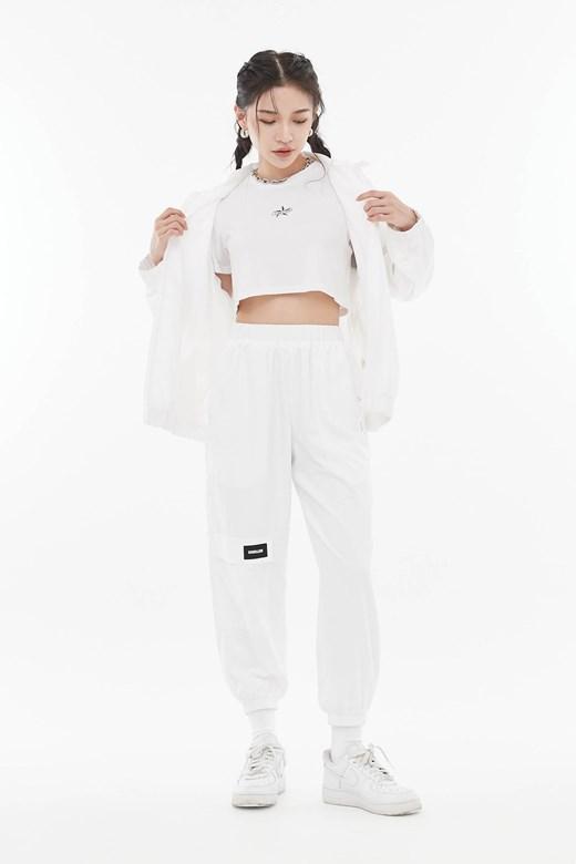 口袋造型運動長褲(UNISEX)