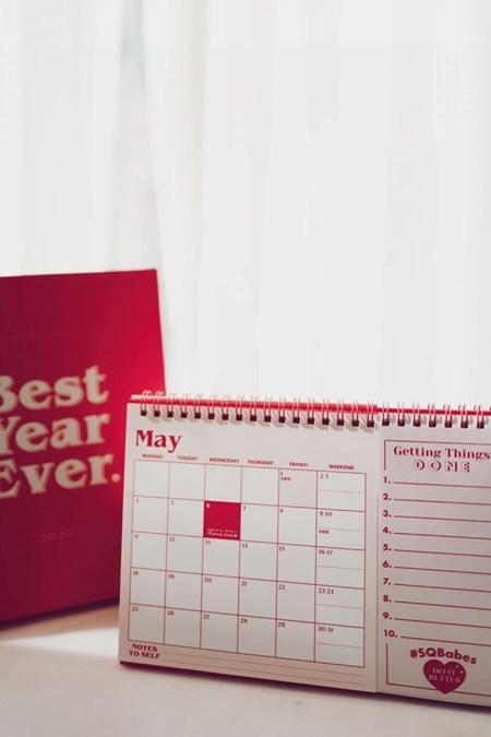 Square Bear品牌年曆