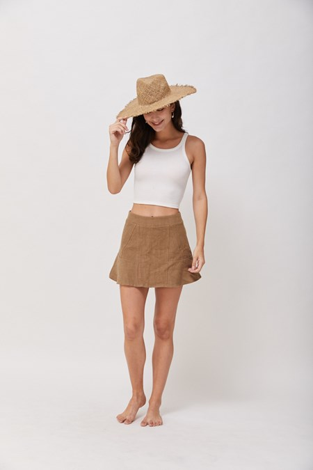 None Of Your Beeswax Skort