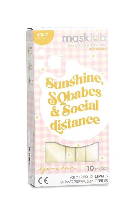 Sunshine, SQBabes, and Social Distance 品牌口罩